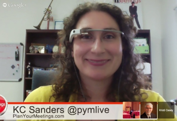 Google Glass streamlines social moderation during presentations or webcasts.